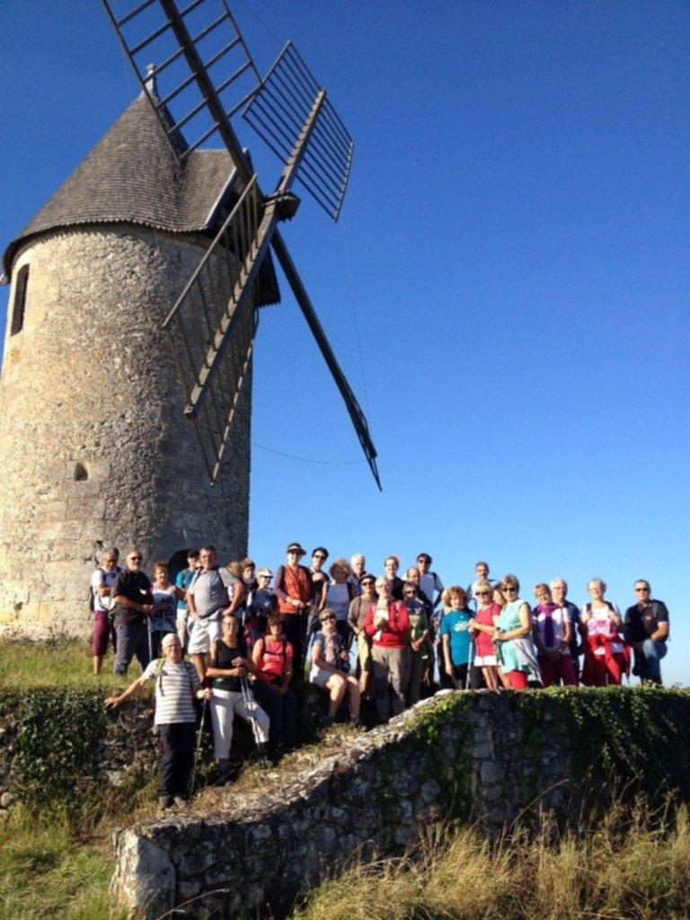 Groupe au moulin de St Aubin